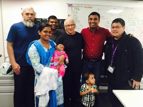 with Apostle David Hogan and other Mega Church Pastors in Australia